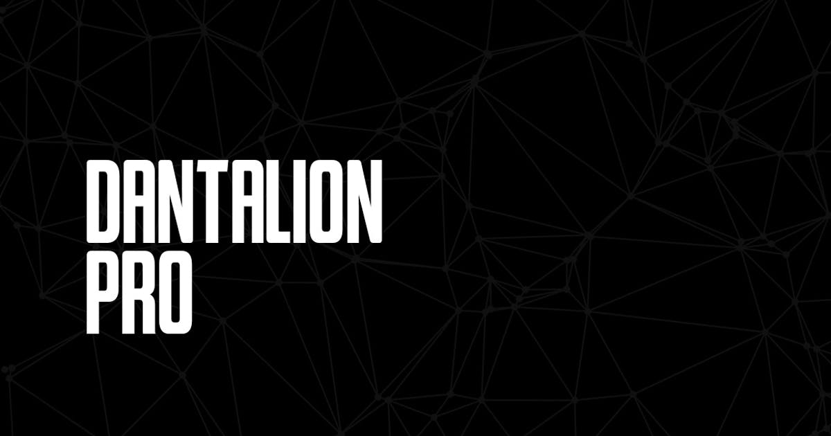 Download Dantalion - Modern Typeface + WebFonts by webhance