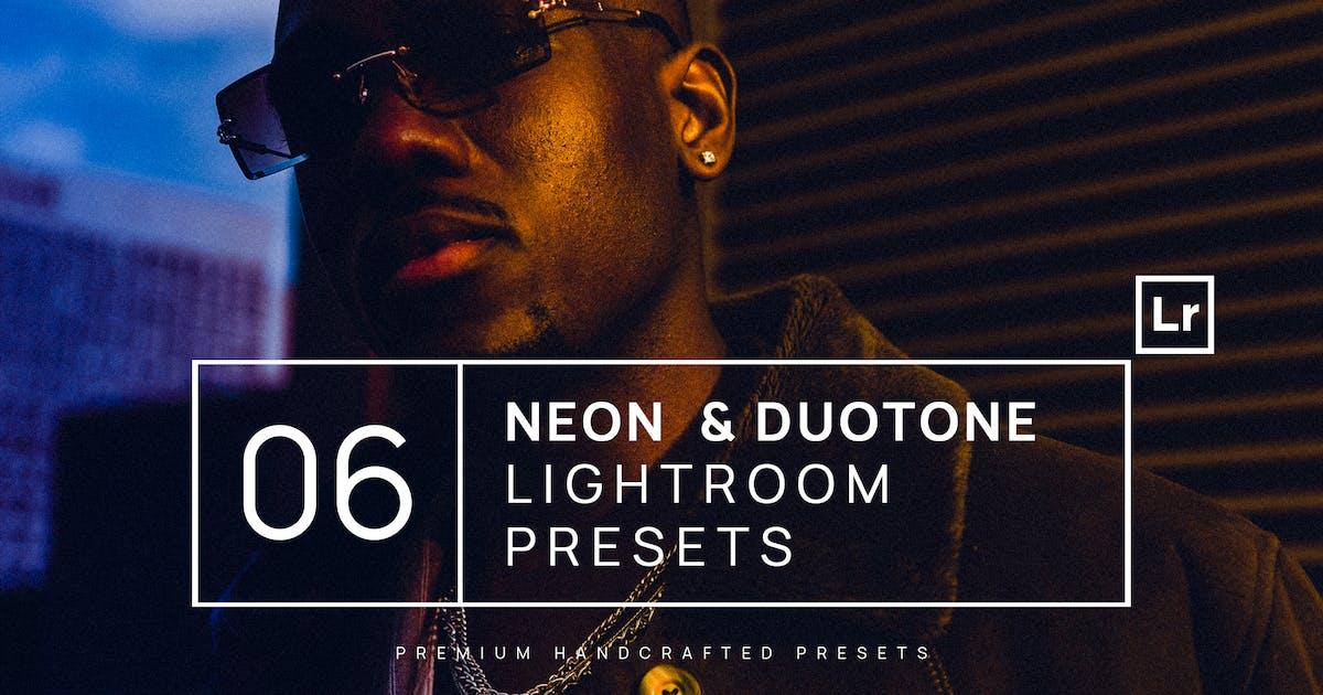 Download 6 Neon & Duotone Lightroom Presets + Mobile by zvolia