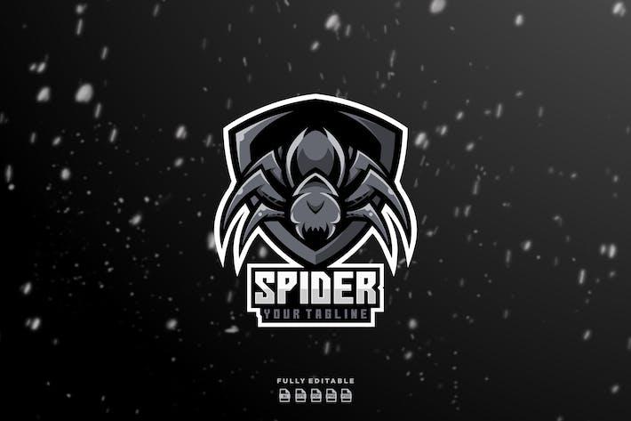 Spider Shield Esport Logo