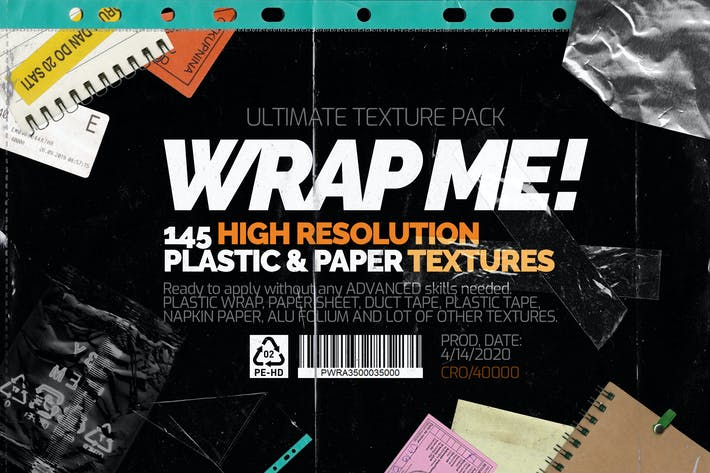 Thumbnail for Wrap Me! Ultimate Textures Pack