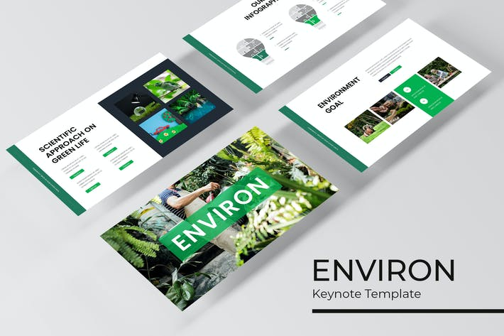 Thumbnail for Environ - Plantilla de Keynote