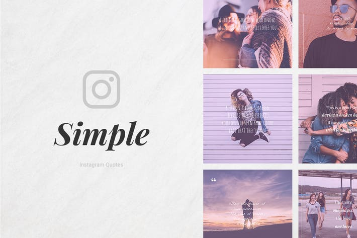 Thumbnail for Simple Instagram Quotes
