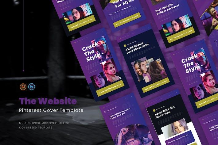 Webseitenersteller Pinterest Cover