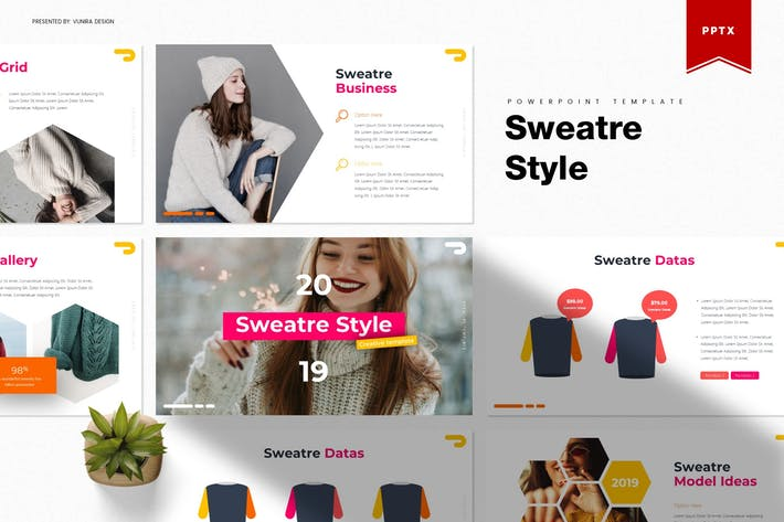 Thumbnail for Sweatre Style | Powerpoint Template