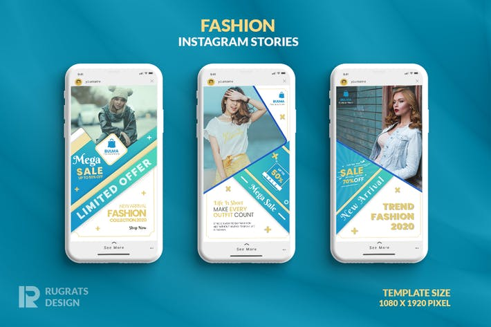 Thumbnail for Fashion R4 Instagram Story Template
