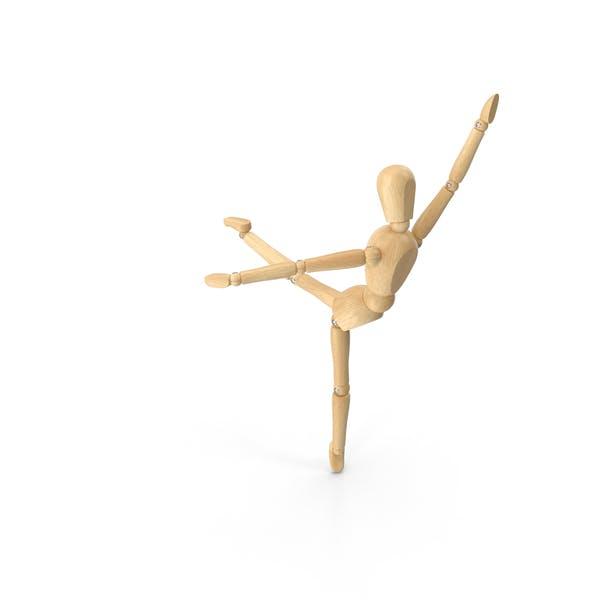 Ballerina Schaufensterpuppe