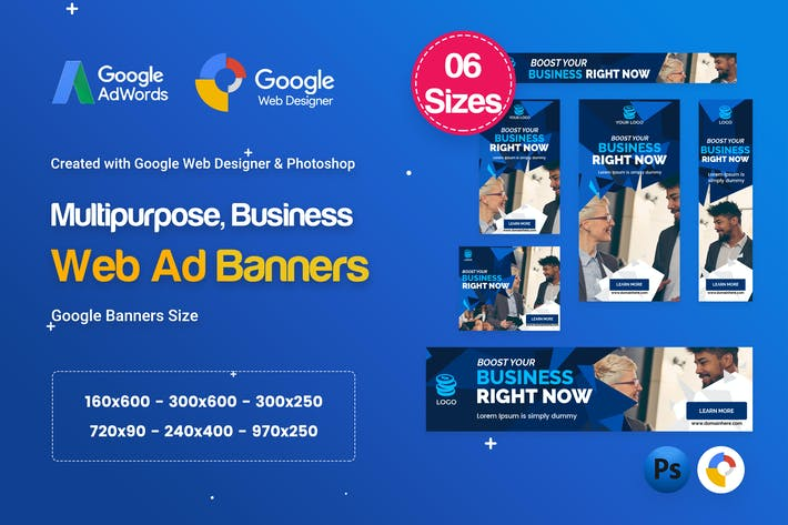Thumbnail for Multi-Purpose Banners HTML5 D73 Ad