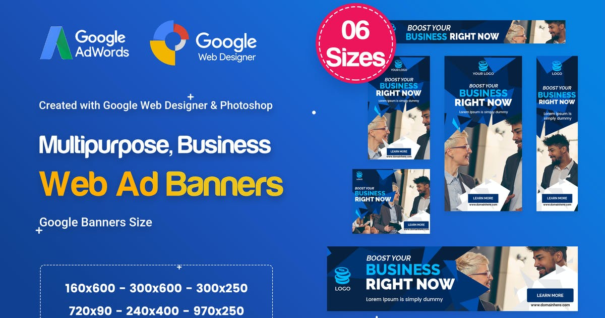Download Multi-Purpose Banners HTML5 D73 Ad by iDoodle