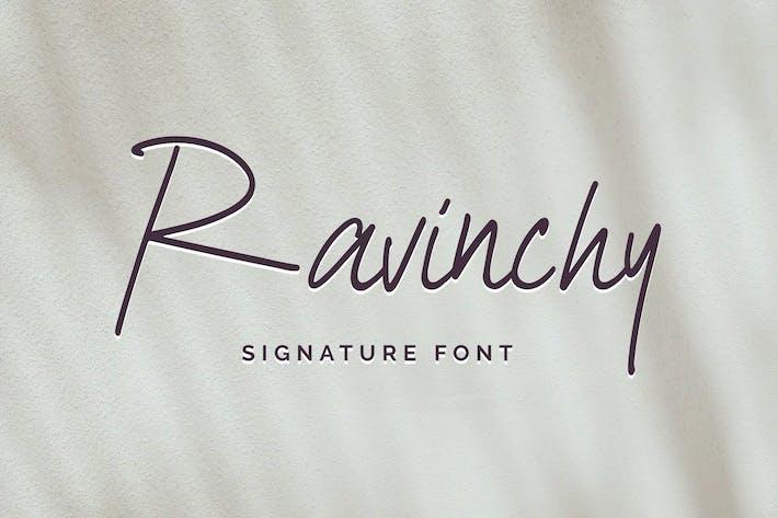 Ravinchy - Police Signature