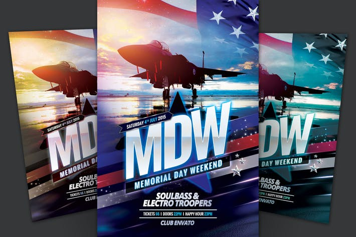 Thumbnail for Memorial Day Weekend Flyer
