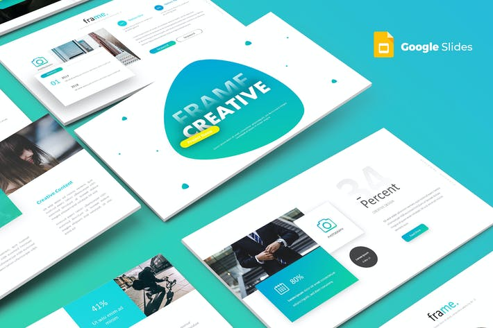 Frame Creative - Google Slides Template