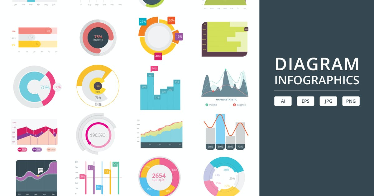 Download Diagram Infographics by Graphiqa