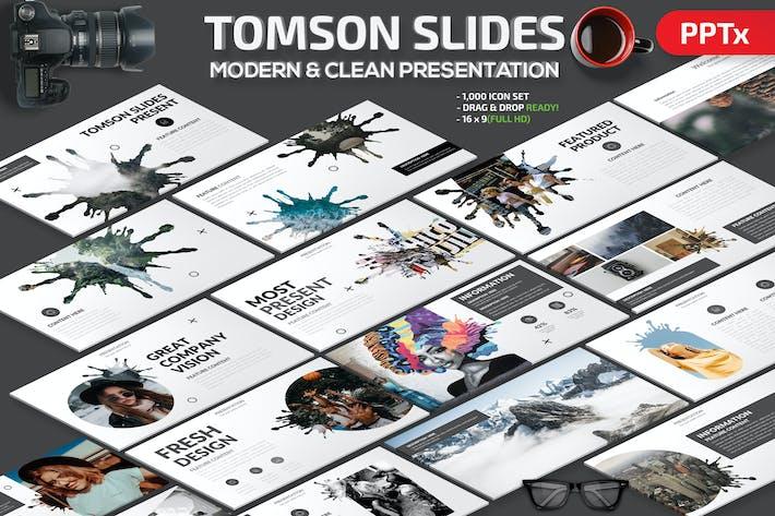 Thumbnail for Tomson Slides Powerpoint Presentation