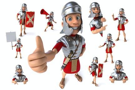 10 römische Soldaten!