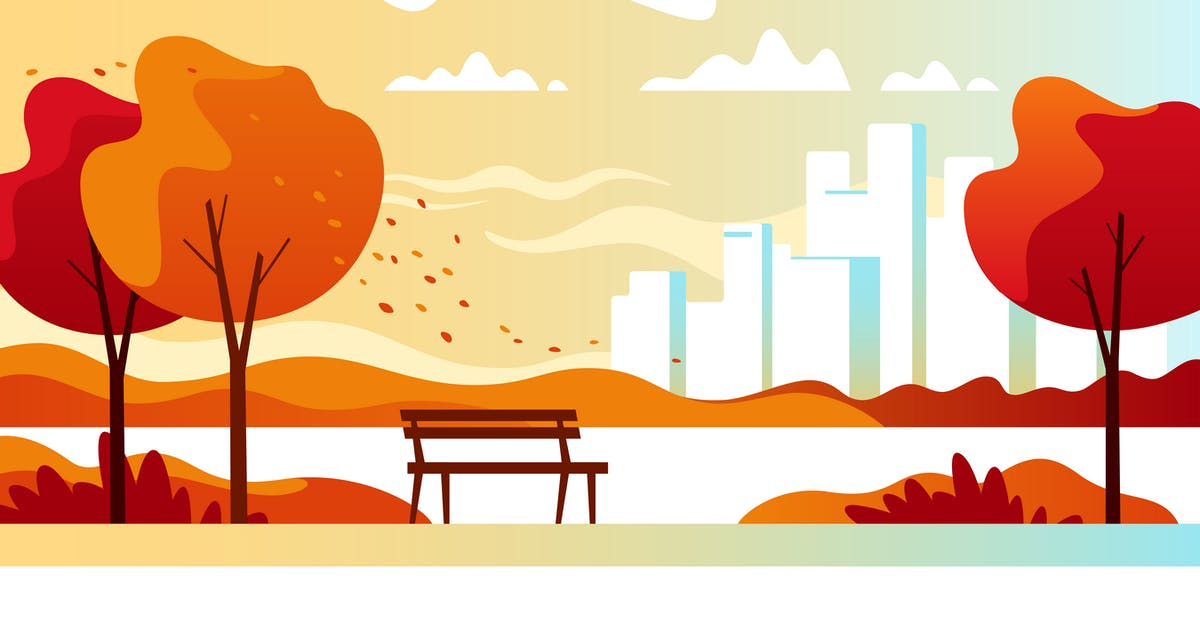 Download Autumn City Park by Faber14