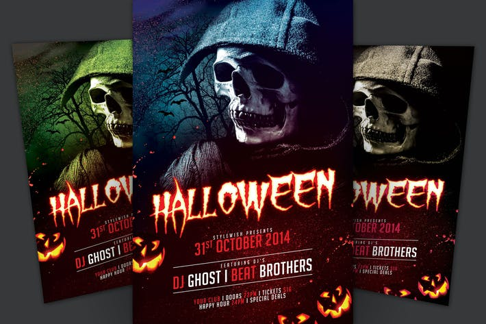 Halloween Flyer By StyleWish On Envato Elements
