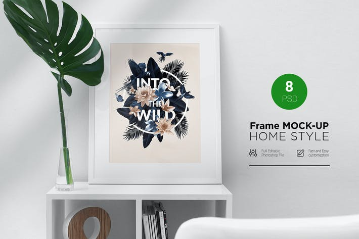 Thumbnail for Frame Mock-Up Home Style