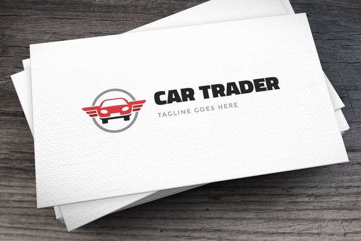 Thumbnail for Car Trader Logo Template