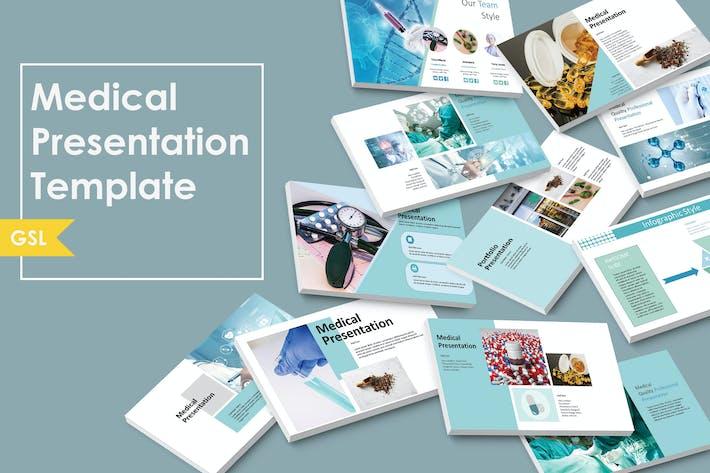 Thumbnail for Medizin | Google Slide Vorlage
