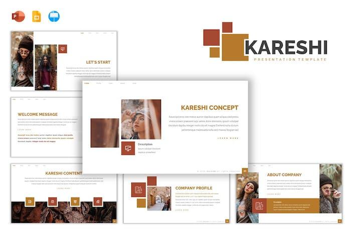 Thumbnail for Kareshi - Шаблон презентации