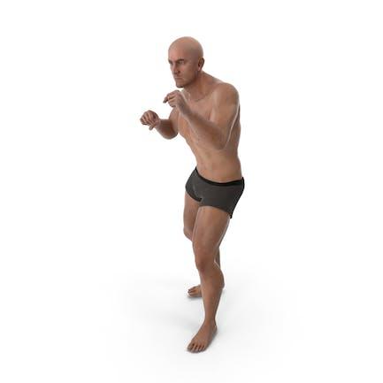 Спортивный человек Бокс