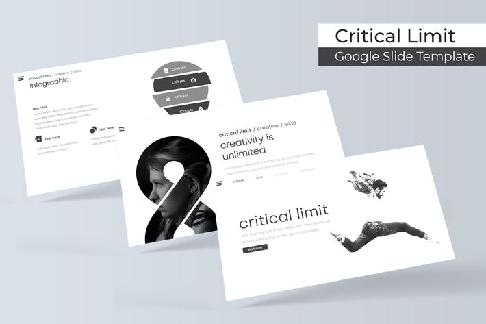 Thumbnail for Critical limit - Google Slide Template