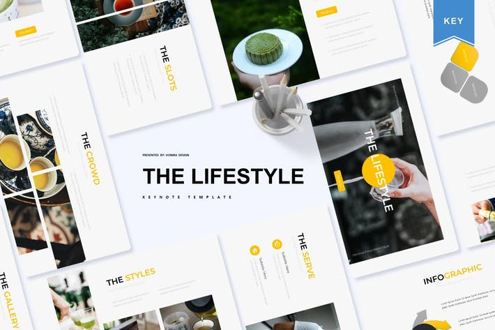 Thumbnail for The Lifestyle | Keynote Template