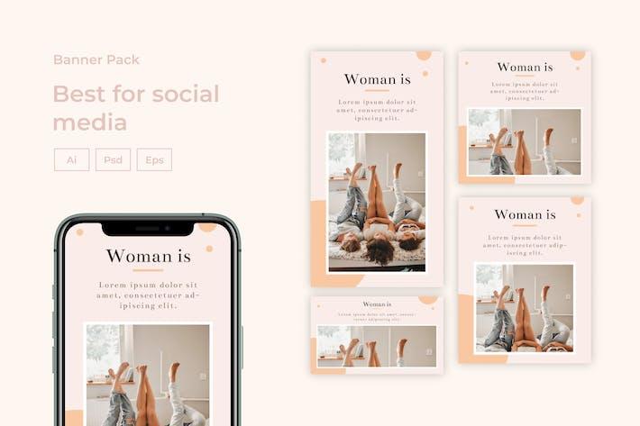 Thumbnail for Sanstemp - Social Media Post Kit vol 5.0