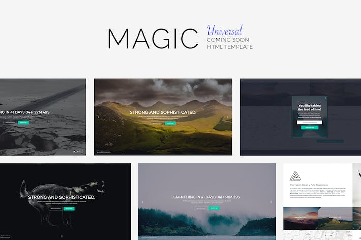 Cover Image For MAGiC - Universal Coming Soon Template