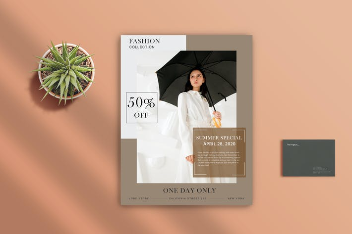 Thumbnail for Fashion Flyer 1