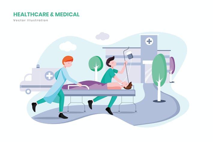 Thumbnail for Ilustración médica y médica