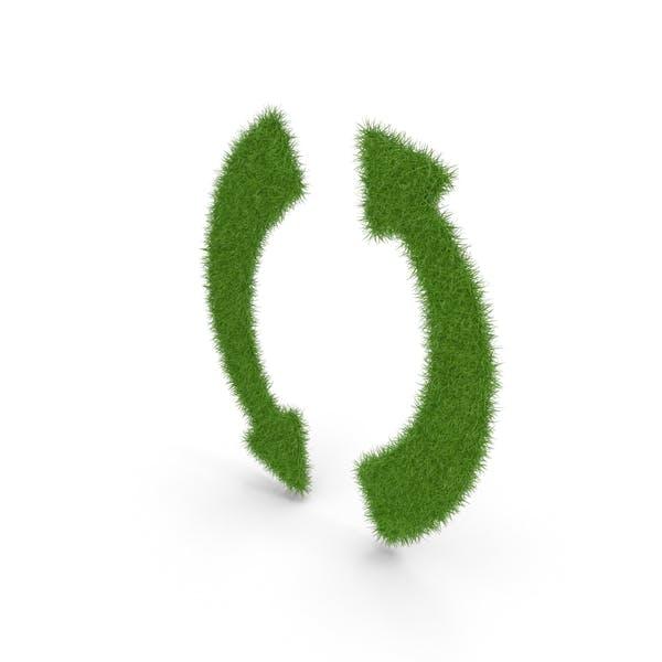 Grass Arrows Symbol