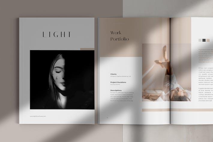 Thumbnail for LIGHT / Creative Portfolio Brochures