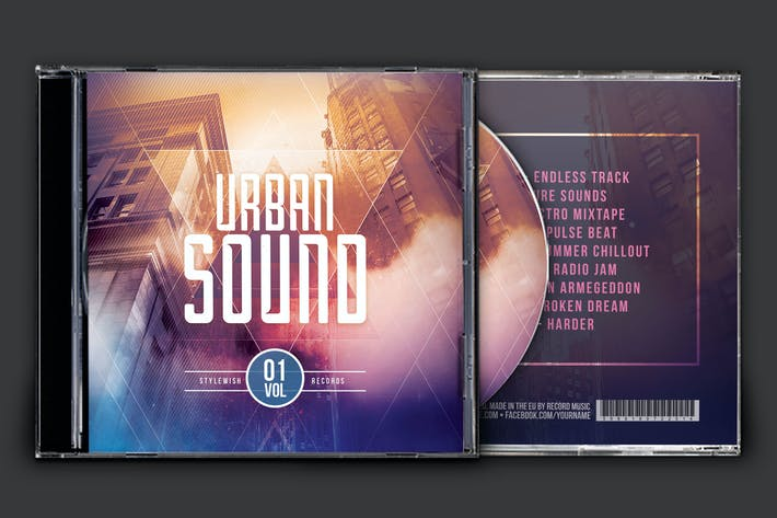 Thumbnail for Urban Sound CD Cover Artwork