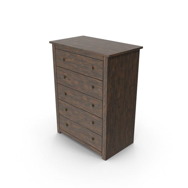 Chest of Drawers Dark