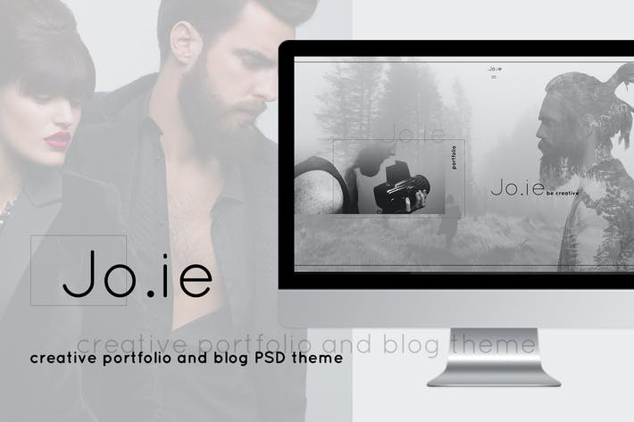 Thumbnail for Jo.ie — Personal/Studio Multipurpose Portfolio