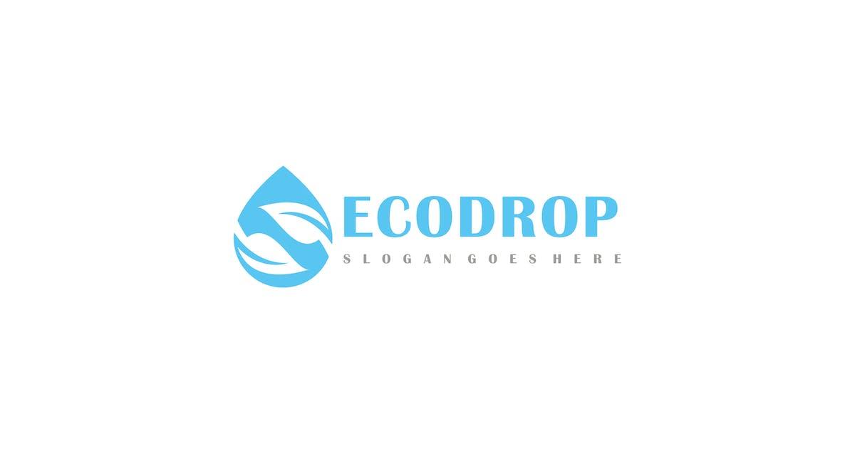 Download Eco Drop Logo by 3ab2ou