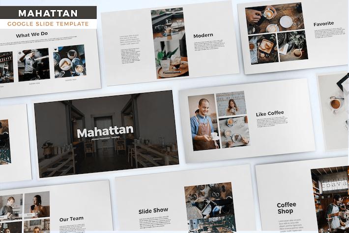 Thumbnail for Mahattan - Google Slides Template