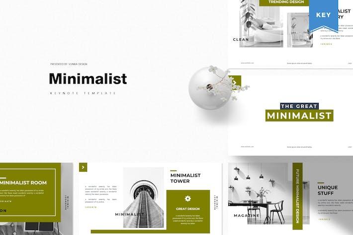 Thumbnail for Минималистский | Шаблон Keynote