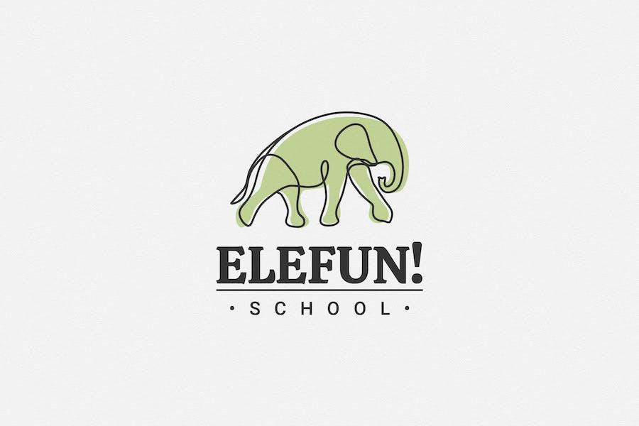 Elefun School Logo