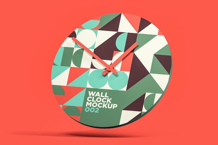 Wall Clock Mockup 002