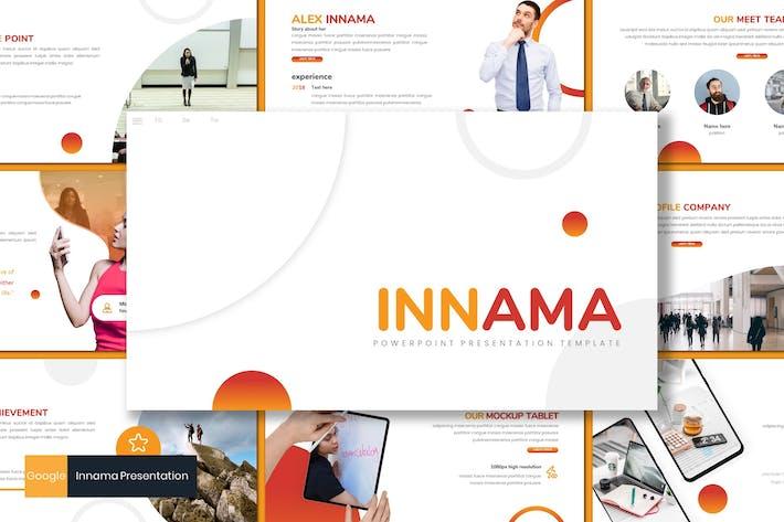 Thumbnail for Innama - Business Google Slides Template