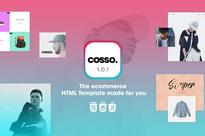 Thumbnail for Cosso | Clean, Minimal Responsive HTML Template