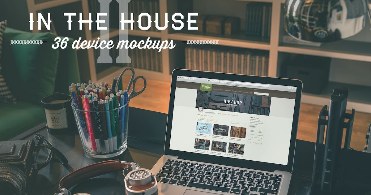 Download In the House II - 36 device's mockups by Madebyvadim