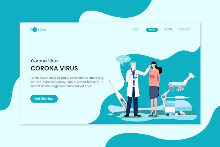 Declare Health For Virus Corona Disease