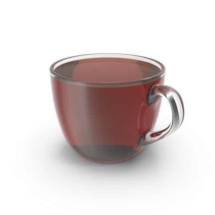 Kleine Tasse mit Tee