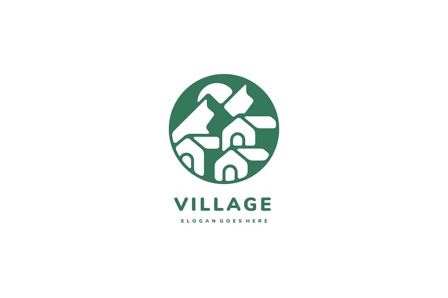 Houses Village Logo