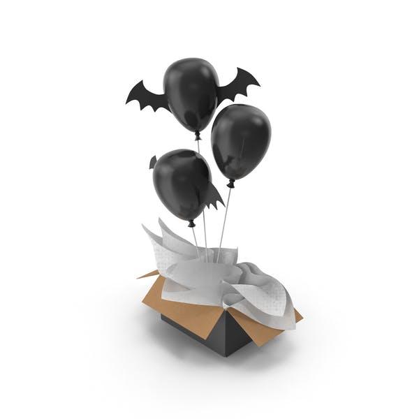 Halloween Balloons Gift Box