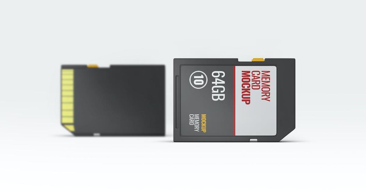 Download Memory Card Mock-Up by L5Design