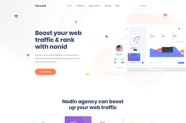 Nonid - Responsive Business Drupal Theme